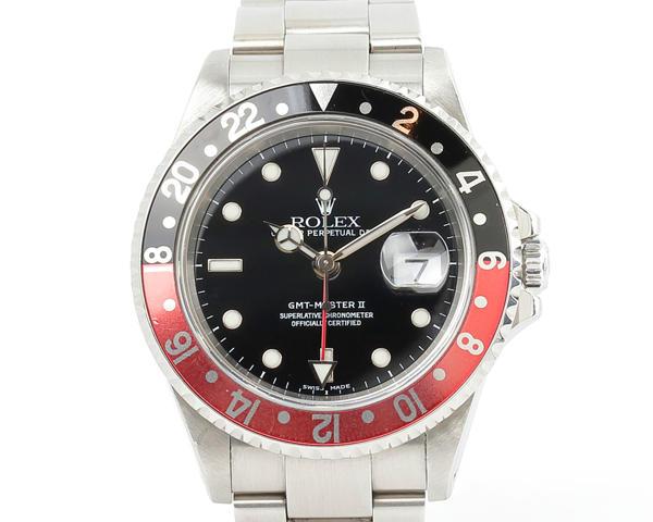 ROLEX(ロレックス)GMTマスターⅡ 16710 SS/黒・赤ベゼル