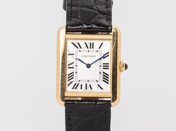 Cartier(カルティエ) タンクソロSM W1018755 YGxSS