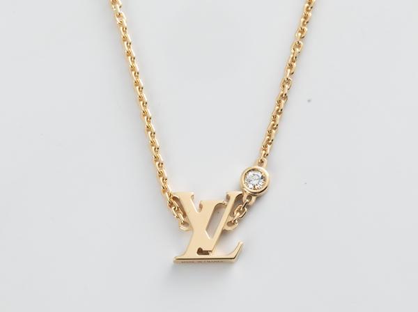 LOUIS VUITTON(ルイ・ヴィトン)750YGダイヤモンドネックレスQ93626