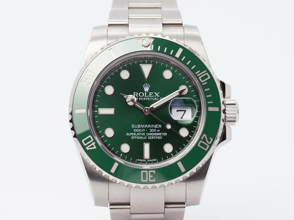 ROLEX (ロレックス)サブマリーナーデイト(緑) 116610LV