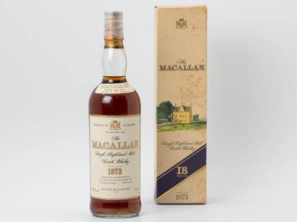 ウイスキー マッカラン 18年
