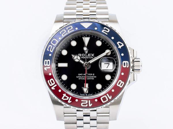 ROLEX (ロレックス) GMTマスターⅡ 126710BLRO